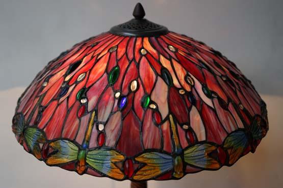 Detail Tiffany lamp Mississippi