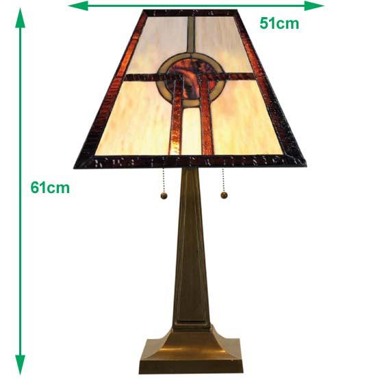 tiffany tischlampe belvedere usi maison. Black Bedroom Furniture Sets. Home Design Ideas