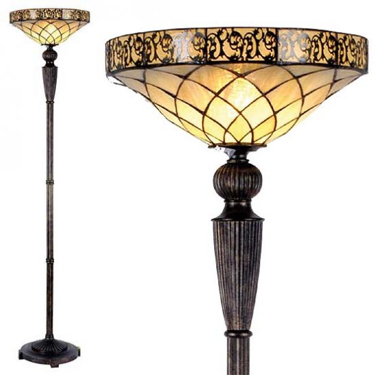 tiffany floor lamp rochelle i combi