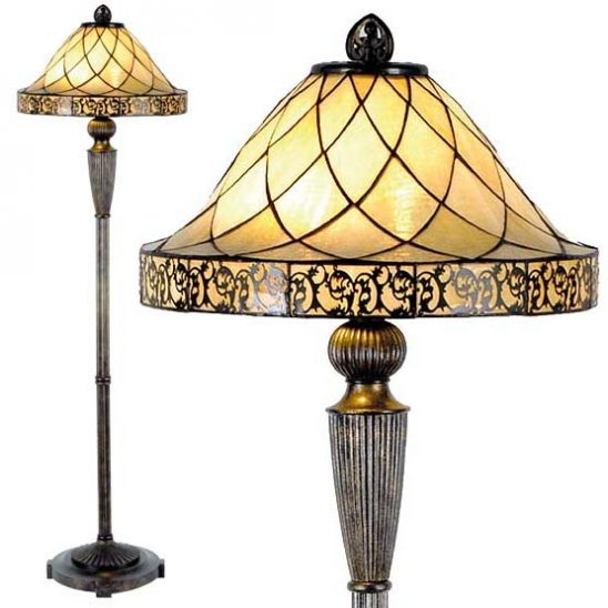tiffany floor lamp rochelle II combi
