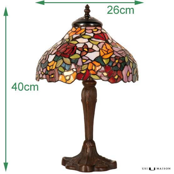 tiffany lamp augusta sizes