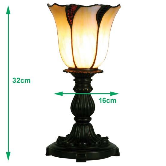 Tiffany art deco lampje