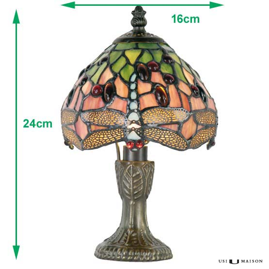 tiffany lamp chicago sizes