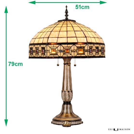tiffany tischlampe charleston usi maison. Black Bedroom Furniture Sets. Home Design Ideas
