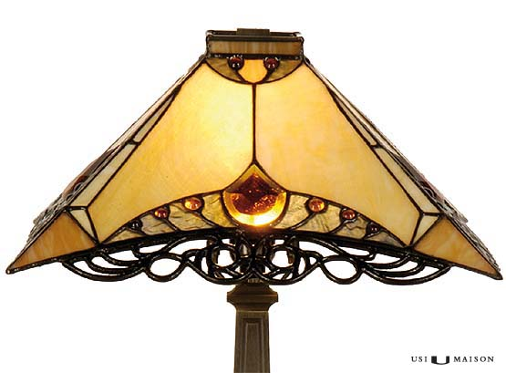 tiffany lamp illinois shade