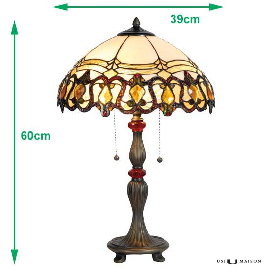 tiffany lamp monroe sizes