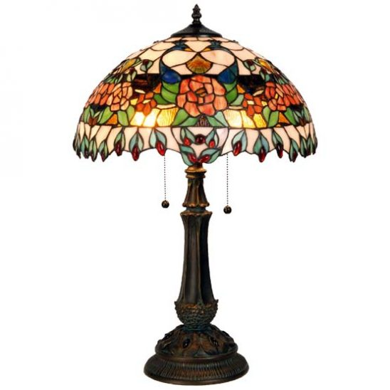 tiffany lamp peacock