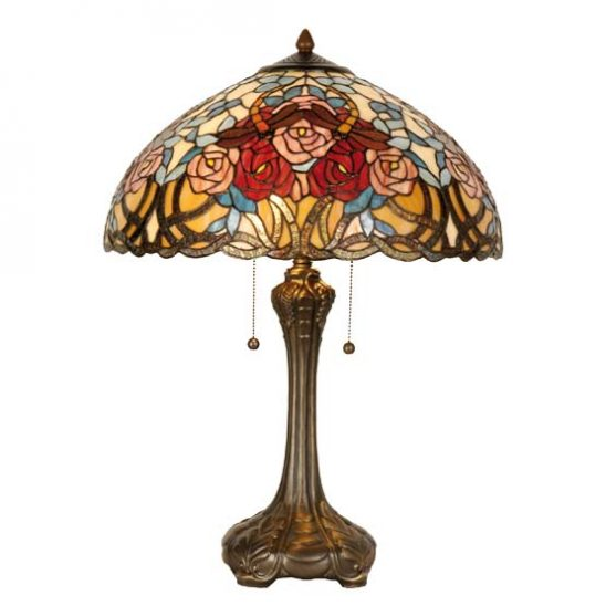 tiffany lamp roseanne