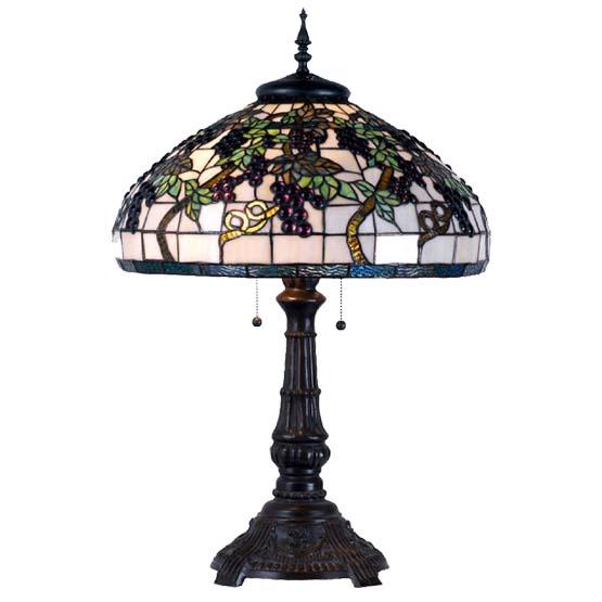 Tiffany Table Lamp Saint Emilion