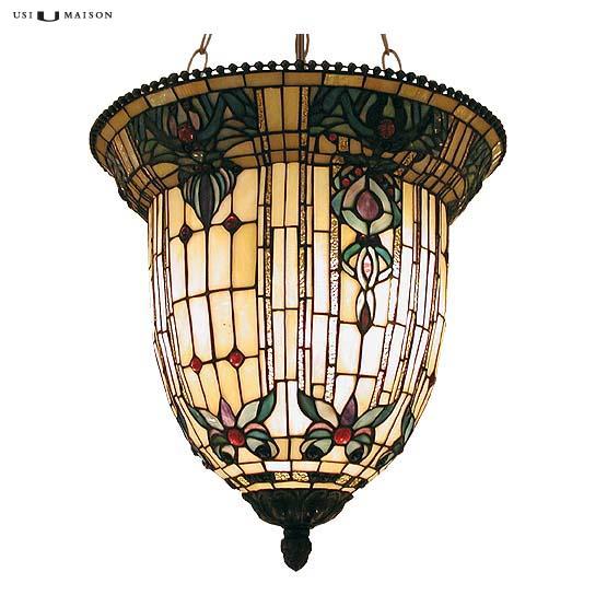 tiffany hanglamp burlington 1 shade
