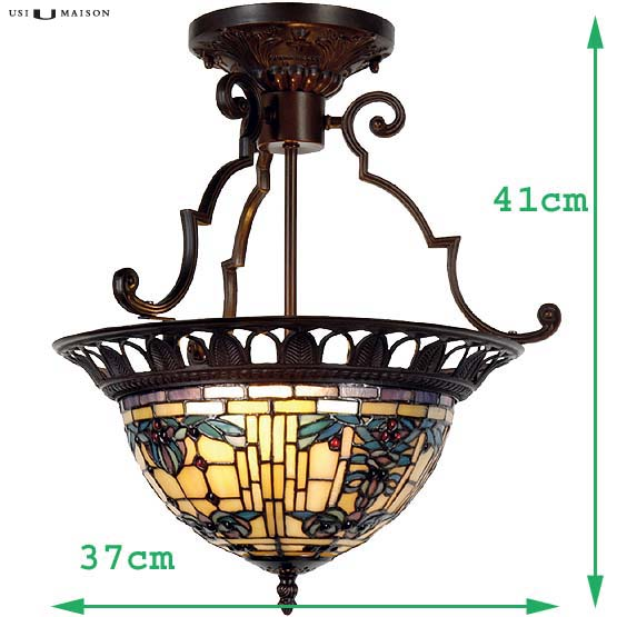 tiffany hanglamp burlington 3 sizes