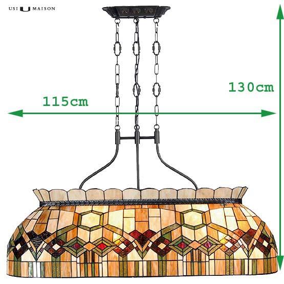 tiffany hanglamp manhattan 1 sizes