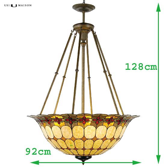 tiffany hanglamp michigan 1 sizes