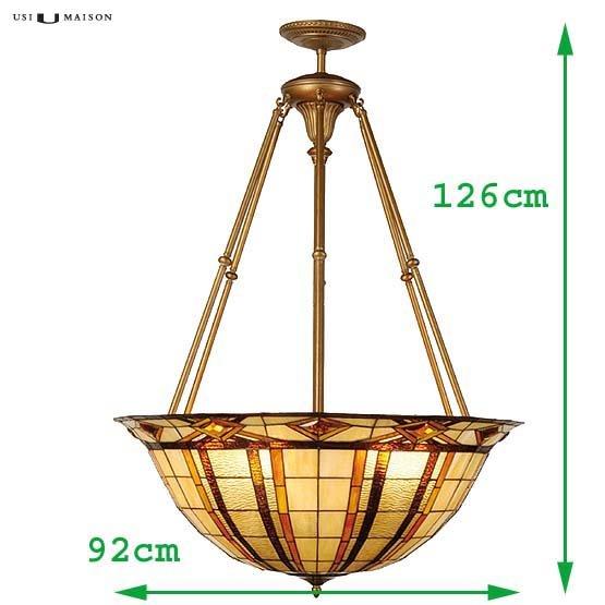 tiffany hanglamp reno sizes
