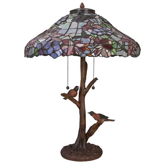tiffany tafellamp birdsboro usi maison. Black Bedroom Furniture Sets. Home Design Ideas