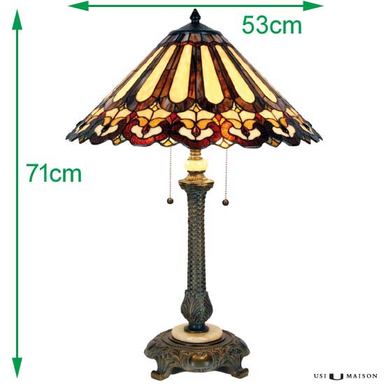 tiffany lamp pennington sizes