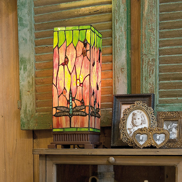 Tiffany windlichten bij Usi Maison
