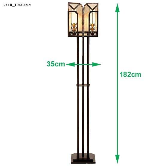 tiffany floor lamp boston sizes