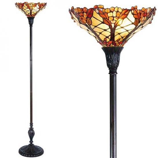 tiffany floor lamp carnelian combi