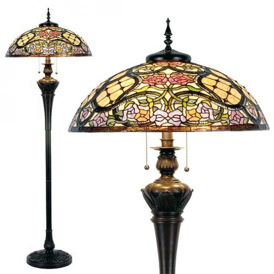 tiffany floor lamp covington combi