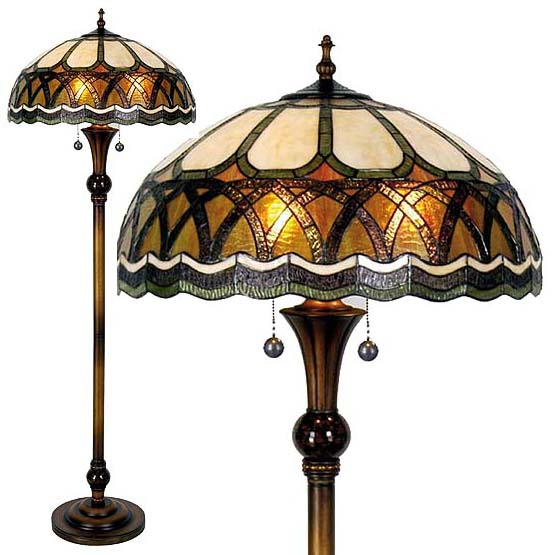 tiffany floor lamp lindale combi