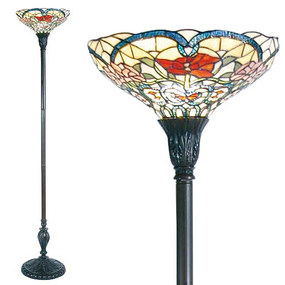 tiffany floor lamp marietta combi