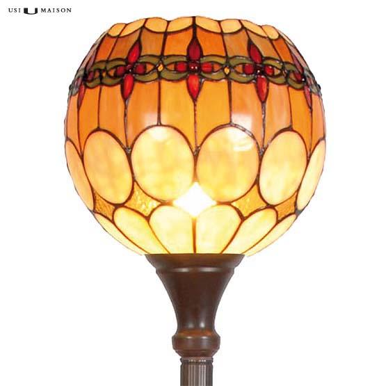 tiffany floor lamp michigan shade