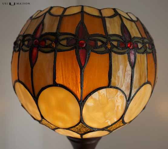 tiffany floor lamp michigan shade 2