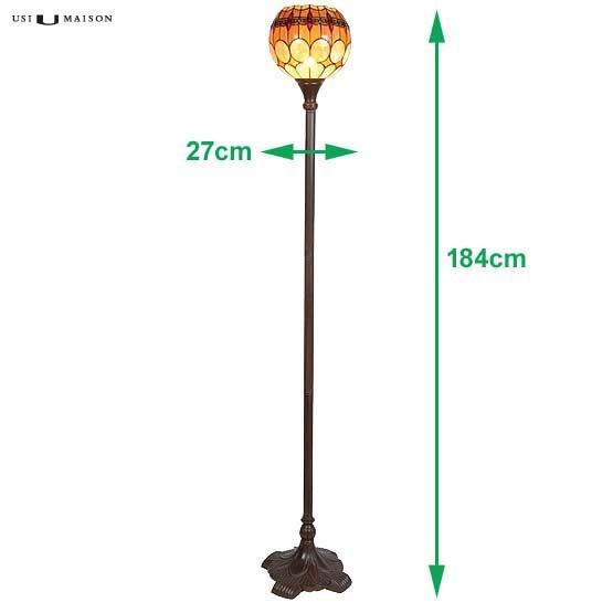 tiffany floor lamp michigan sizes