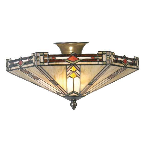 tiffany plafondlamp boston 2