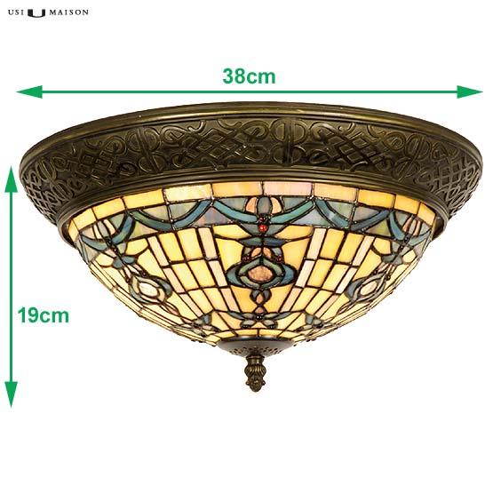 tiffany plafondlamp burlington sizes