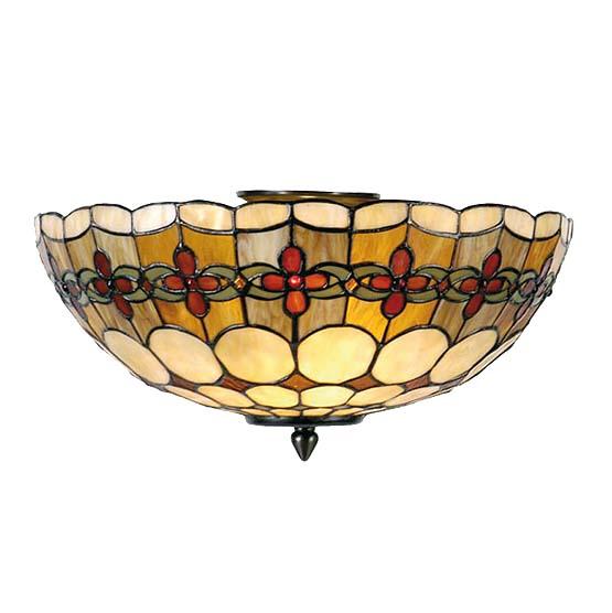 tiffany plafondlamp michigan 1