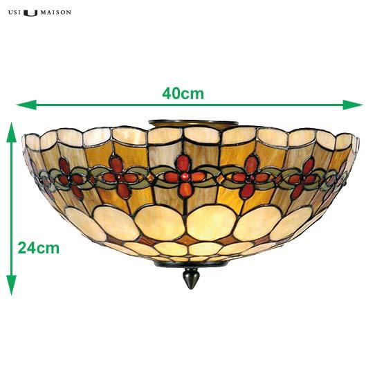 tiffany plafondlamp michigan 1 sizes