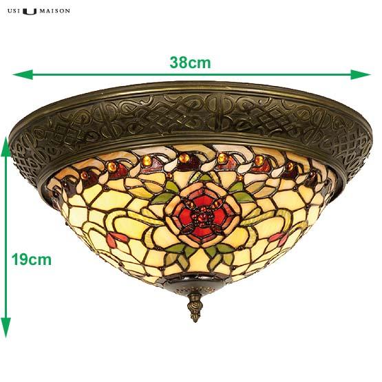 tiffany plafondlamp salisbury 1 sizes