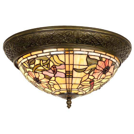 tiffany plafondlamp scranton 1
