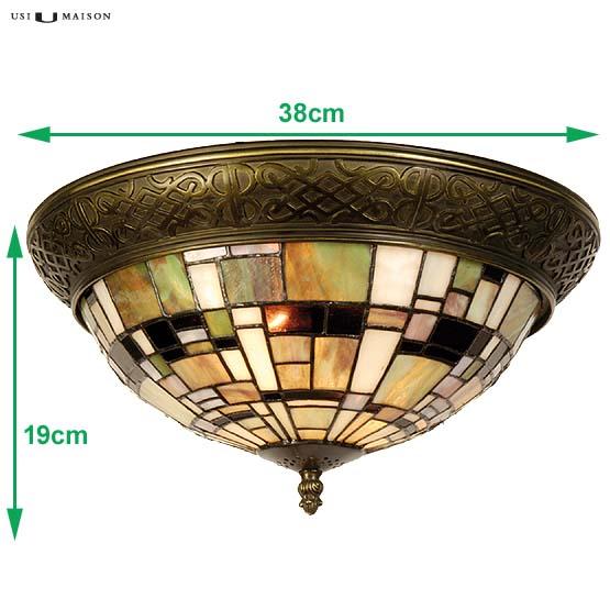 tiffany plafondlamp winchester sizes