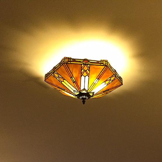 tiffany plafondlamp boston 2b
