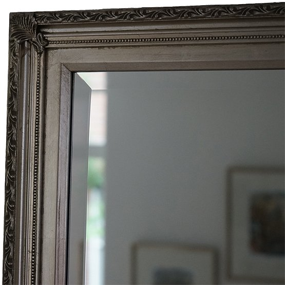 Klassieke spiegel Perugino - Zilver