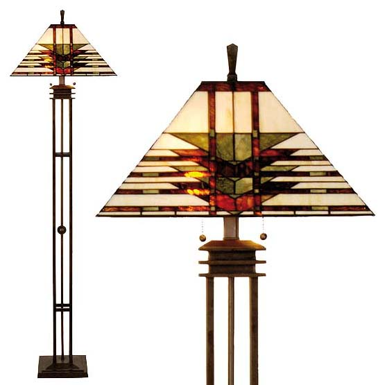 tiffany floor lamp barclay combi