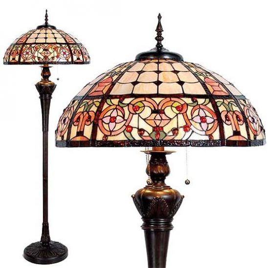 tiffany floor lamp mableton combi