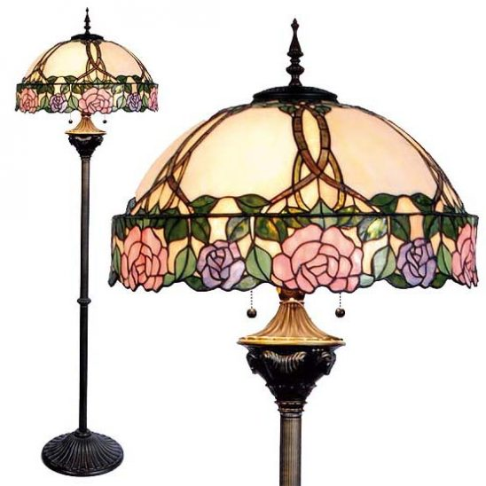 tiffany floor lamp montrose combi