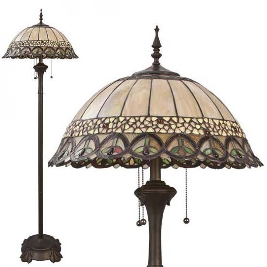 tiffany floor lamp nashua 1 combi