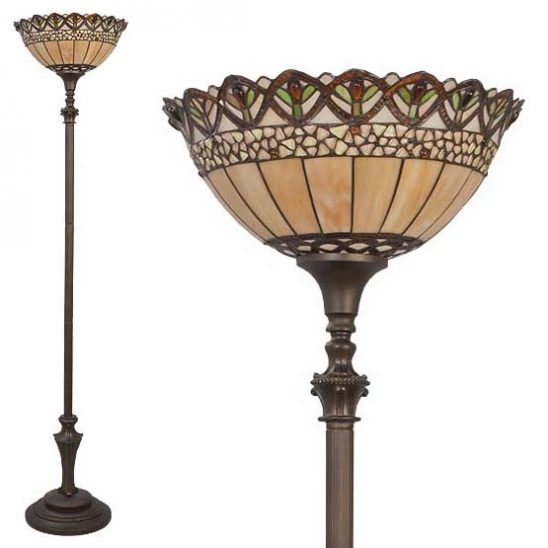 tiffany floor lamp nashua 2 combi