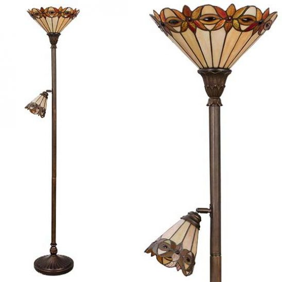 tiffany floor lamp piedmont combi