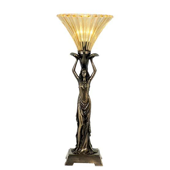 tiffany lamp lady