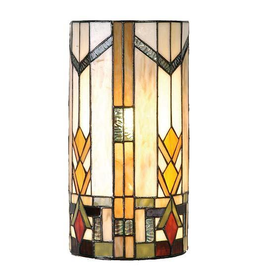 Wall Lamps Tiffany : Tiffany wall lamp Boston 2 - Usi Maison