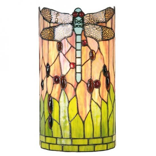 tiffany wall lamp chicago dragonfly 1