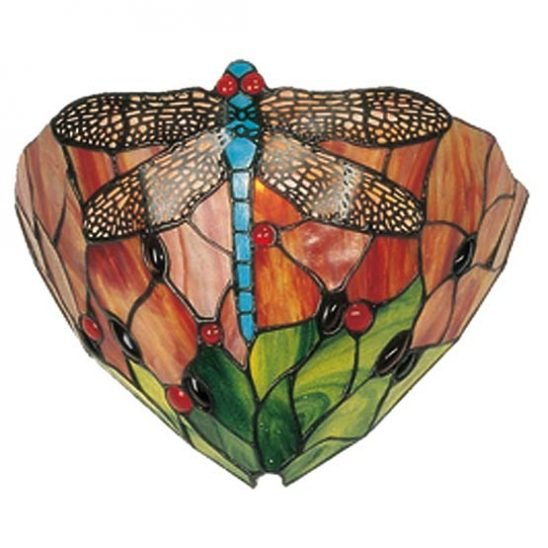 tiffany wall lamp chicago dragonfly 2