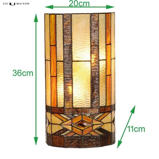 tiffany wall lamp reno sizes