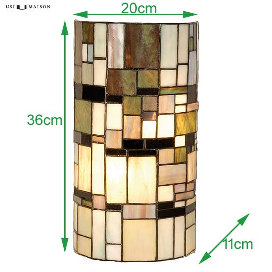 tiffany wall lamp winchester sizes